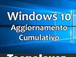 Windows 10 - Primo Aggiornamento Cumulativo di settembre 2019 (KB4515384)