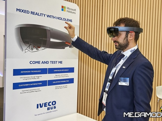 IVECO BUS e Microsoft lanciano il progetto HoloLens