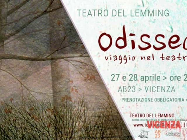 """""""Odisseo"""": Teatro del Lemming in scena all'AB23 di Vicenza"""