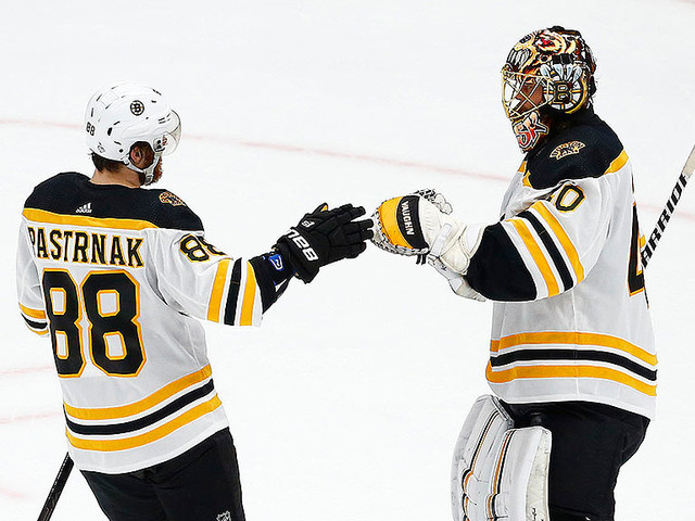 Pastrnak Named To NHL First All-Star Team; Rask Finishes Second In Vezina Voting