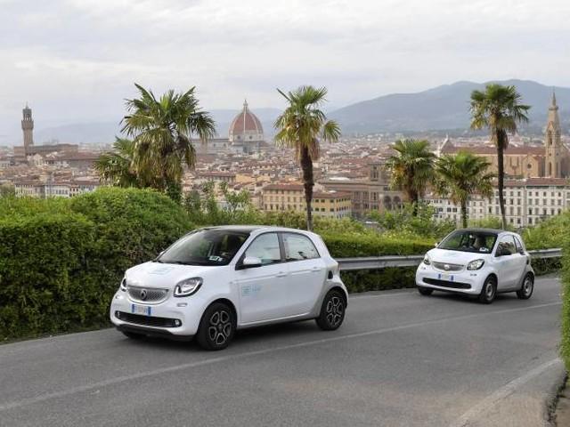 Car2go presenta la nuova flotta di veicoli a Firenze