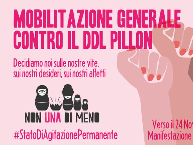 """Affido condiviso, manifestazioni in tutta Italia: """"La proposta Pillon intrisa di violenza da respingere senza condizioni"""""""