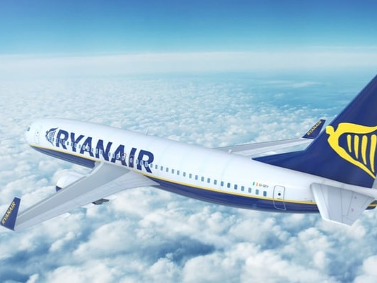 Rynair, si vola fino a dicembre a partire da 5 euro