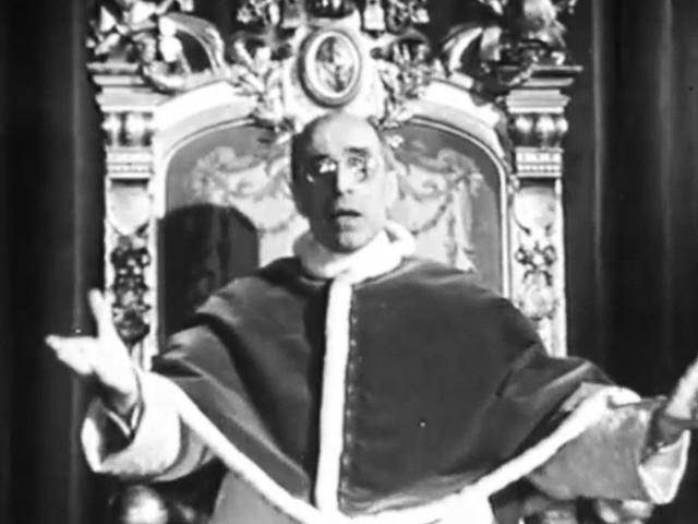 Pasqua 1949: il Papa parla per la prima volta alla Tv francese