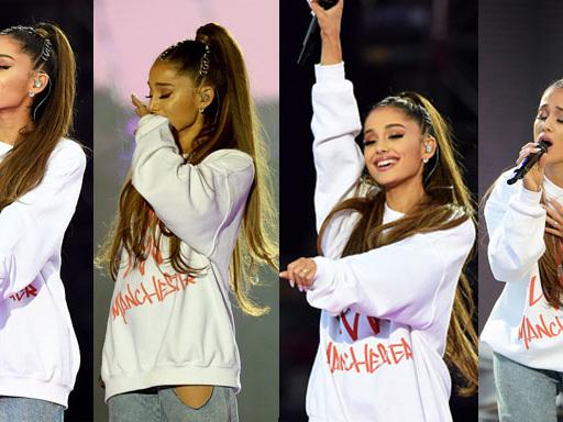 """Ariana Grande in gara nella categoria """"Hero Of The Year"""" agli NME Awards 2018 per One Love Manchester"""