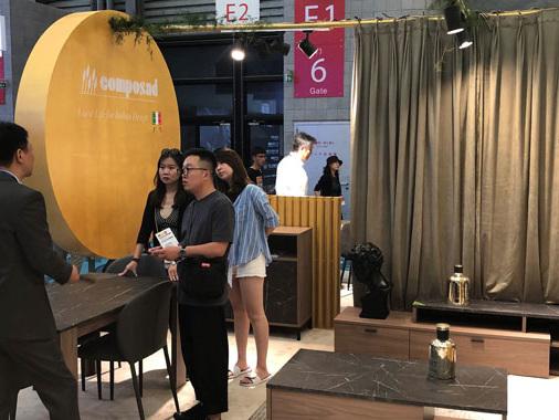 Composad al Furniture Shanghai, export sale all'88% del fatturato globale