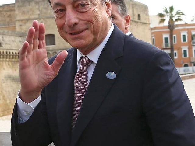 Draghi arrivato a Bari