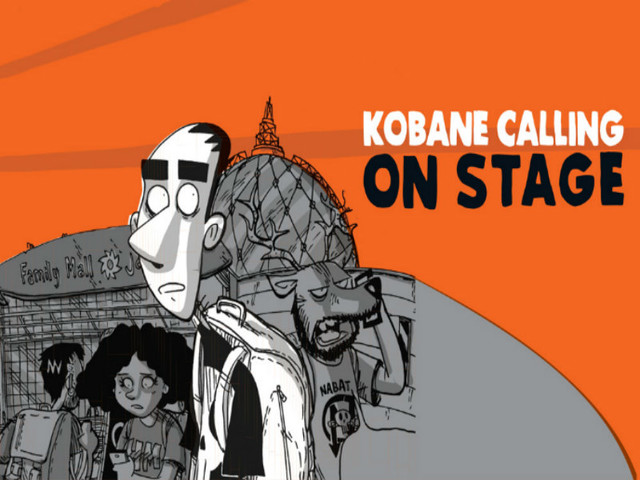 KOBANE CALLING ON STAGE IN TOUR CON ZEROCALCARE
