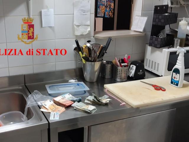 Ancona: cocaina nascosta nella cucina del bar, arrestato 40enne