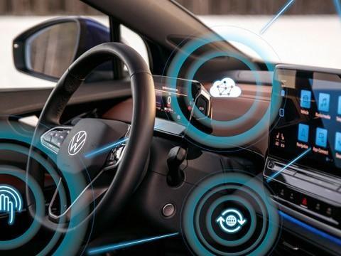 Volkswagen e il suo ambiente virtuale, sulle auto le stesse funzioni dell'elettronica di consumo