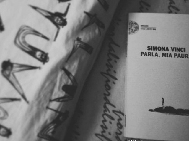 Recensione: Parla, mia paura, di Simona Vinci
