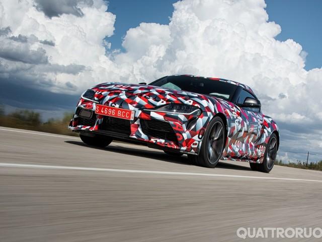Toyota Supra - Al volante del prototipo aspettando quella di serie