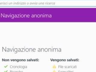 Aprire certi siti sempre in incognito (Chrome) o in anonimo (Firefox)
