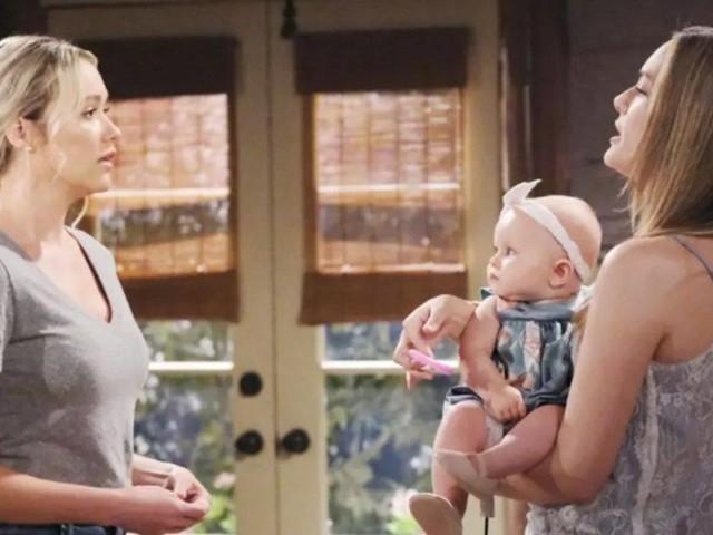Cosa succede a Flo di Beautiful quando Hope scopre la verità su Beth