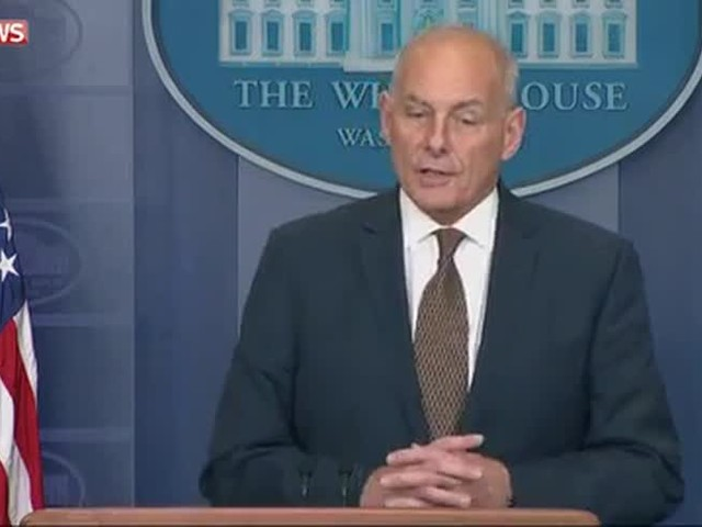 Trump's Chief of Staff 'not quitting' today