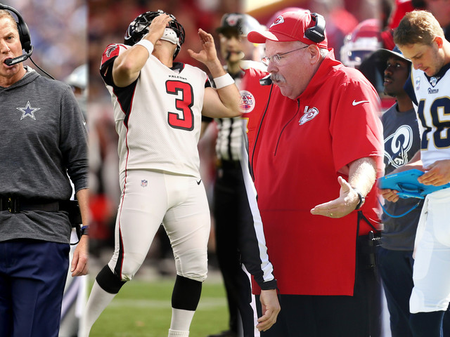 Bad QBs, Bad Coaching, Bad Sunday: Here's Everything In The NFL That Stunk In Week 6