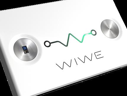 Generatore ECG forma dimensioni carta di credito: Wiwe comunicato stampa 121