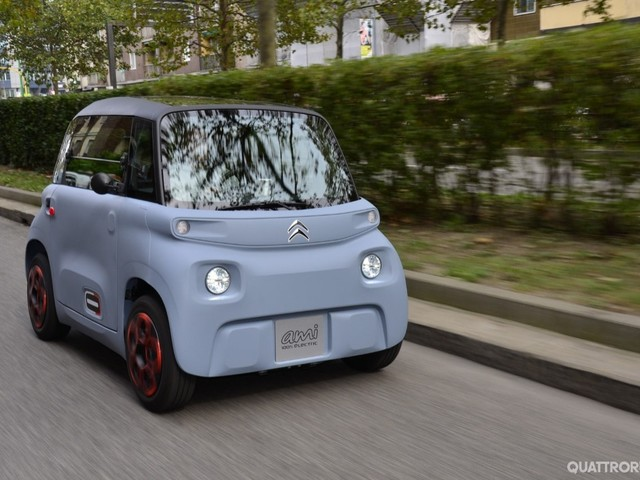 Citroën Ami - Al volante della due posti elettrica - VIDEO