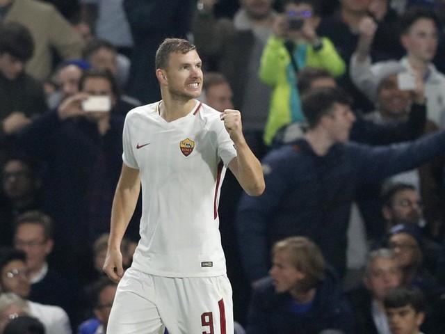 """Roma, Dzeko l'eroe di Londra: """"Ma ora testa al Torino, è più dura del Chelsea"""""""