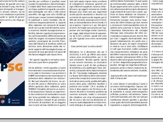 Parla Paolo Orio, il problema elettrosensibilità inavvertito