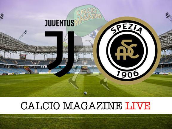 Juventus – Spezia: cronaca diretta live, risultato in tempo reale