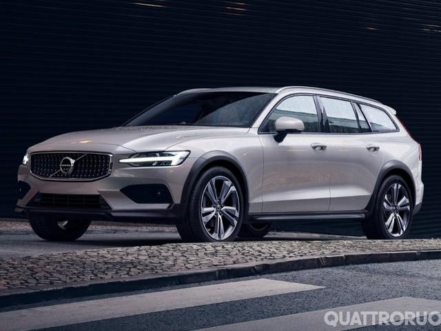 Volvo V60 - La familiare diventa Cross Country