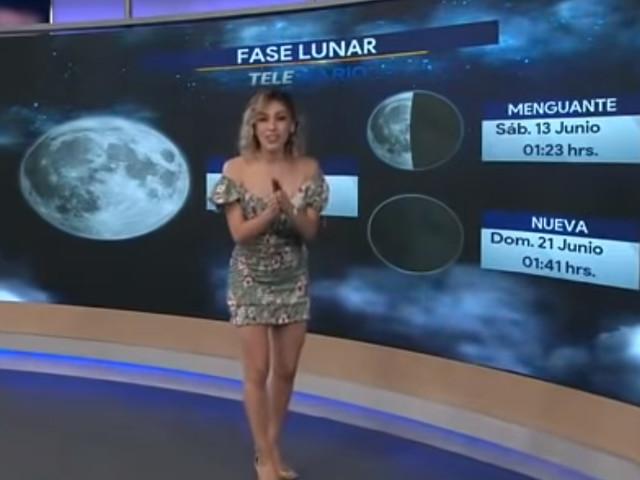 La ragazza del meteo cade in diretta e il suo collega reagisce in maniera inaspettata [VIDEO]