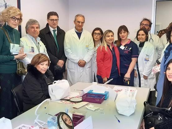 Malate di cancro, un centro di bellezza per proteggersi dagli effetti delle terapie