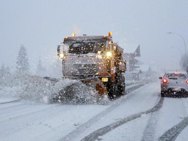Domani abbondanti nevicate allerta della Protezione Civile A22 a una corsia, passi chiusi