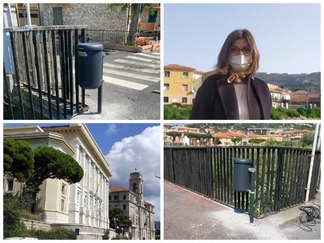 """Imperia punta al decoro urbano, avviata l'installazione di 100 nuovi cestini. Il monito dell'assessore Gandolfo: """"Non si deve mettere la spazzatura di casa"""""""
