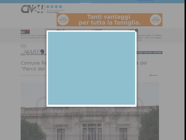 """Comune Reggio, approvato il progetto di fattibilità del """"Parco del Vento"""" di Punta Pellaro"""