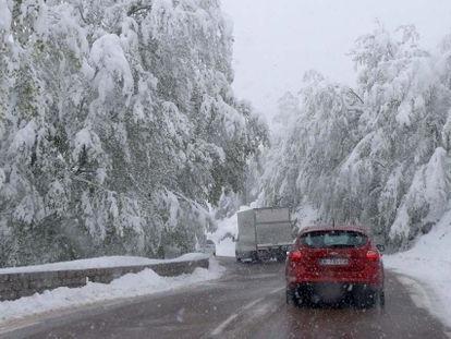 Video Meteo, apoteosi di neve in Corsica. Eccezionale, mai visto a maggio