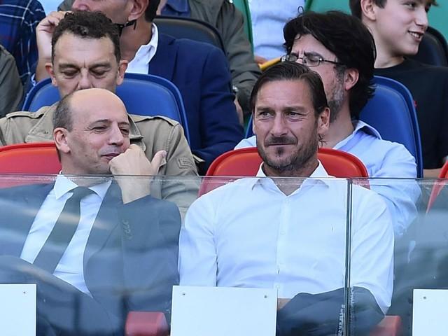 Addio Totti, parla Baldissoni