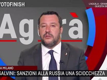 """Matteo Salvini, durissima replica a Luigi di Maio ad Agorà: """"Le mie sono stronz***?"""""""
