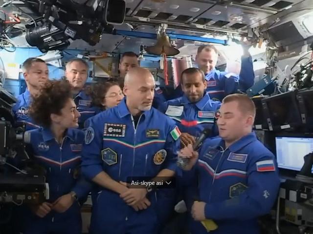 Astroluca al comando della stazione spaziale