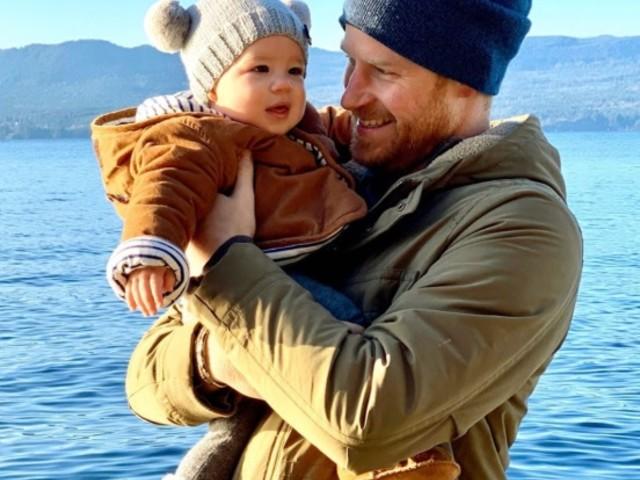 Gli auguri di Harry e Archie per il 2020: la foto dal Canada