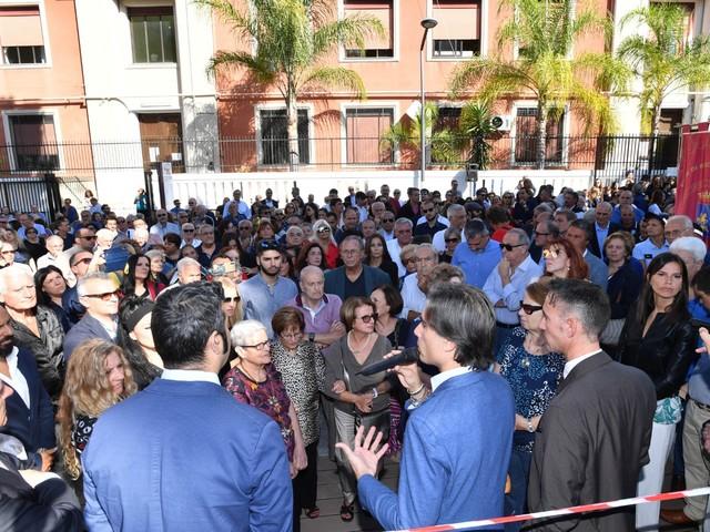 Reggio Calabria: Santa Caterina si riappropria di un luogo del cuore, inaugurata la nuova piazza Sant'Ambrogio [FOTO]