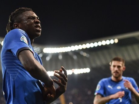 Italia-Finlandia, Kean: «Imparo da Ronaldo, sogno di battere tanti altri record»