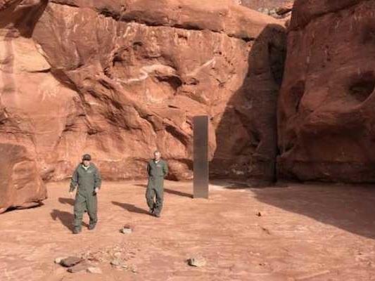 2001: Odissea nello spazio diventa realtà, un misterioso monolite appare nel deserto dello Utah