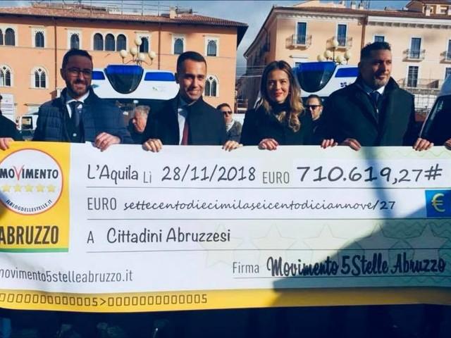 """Grillo dopo il flop di M5S in Abruzzo: """"Gli abruzzesi ci ridiano 700 mila euro"""""""