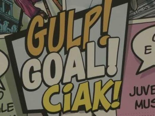 """""""Gulp! Goal! Ciak!"""", il fumetto entra al museo"""