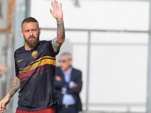 """Roma, De Rossi: """"Con CR7 la Juve ha già ammazzato un po' il campionato"""""""