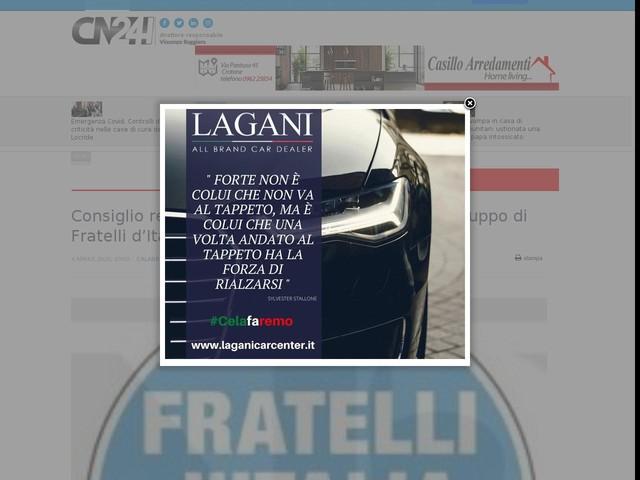 Consiglio regionale, Pietropaolo nominato capogruppo di Fratelli d'Italia