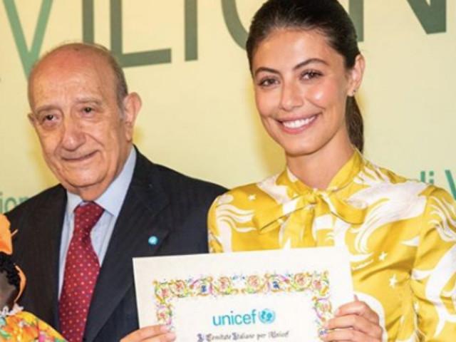 Alessandra Mastronardi è la nuova ambasciatrice dell'Unicef