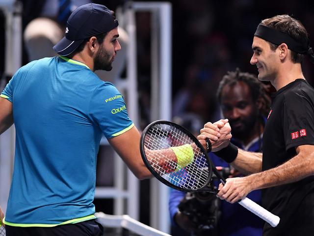 ATP Finals: Berrettini-Federer, il commento di Volandri