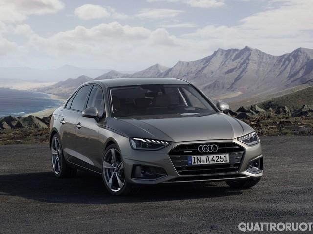 Audi A4 - In Italia a partire da 38.800 euro
