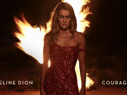 Celine Dion, Courage: crollo per l'album, dalla 1 alla 111 in una settimana