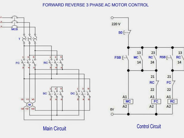 Phase Delta Motor Wiring Diagram For Controls