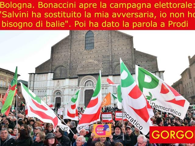 La satira del giorno: la campagna elettorale di Bonaccini