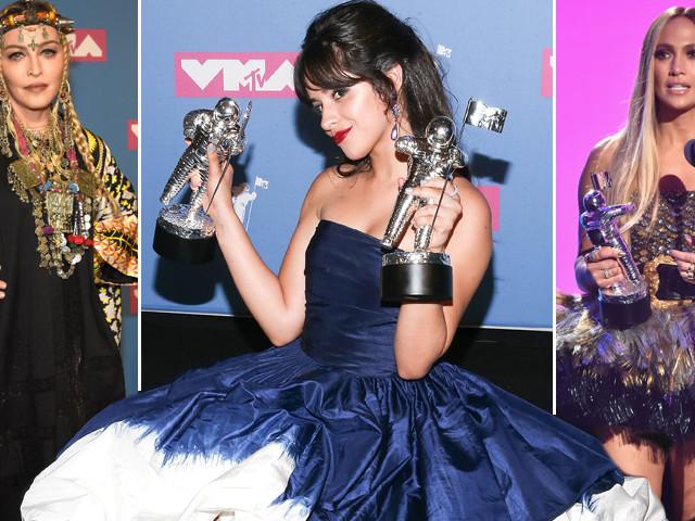 MTV Video Music Awards 2018: la regina J.Lo, il trionfo di Camila Cabello, le critiche a Madonna